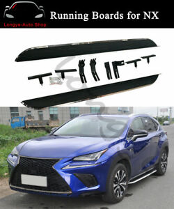 Running Boards fits for Lexus NX200 NX300h NX200T 2015-2020 Side Step Nerf Bars