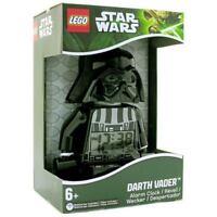 "STAR WARS LEGO 9"" AWAKEN TO DARTH VADER LCD FORCE ALARM CLOCK GET MULTI OR SOLO"