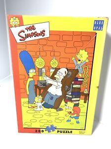 2003 The Simpsons Blue Opal 300pc Puzzle 50x34cm Rare