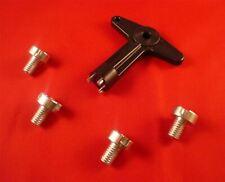 93-01 B Black Locking Wheel Bolts 12x1.5 Nuts for Opel Combo