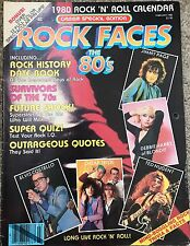 Creem magazine Feb 1980 Special Edition Rock Calendar Blondie Cheap Trick Kiss