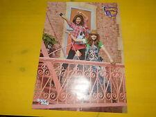 BELLA & ZENDAYA - Poster !!! 2P !!! Au verso : SHAKE IT UP !!!