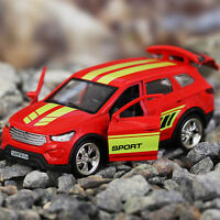 Hyundai Santa Fe Sport Diecast Metal Model Car Toy Die-cast Cars