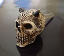 Custom Longhorn Skull Key Blank for DUCATI CAGIVA KAWASAKI Monster 600s 900 ST4s