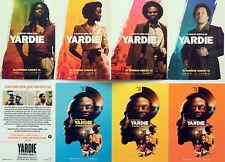 YARDIE FILM MOVIE POSTCARDS - IDRIS ELBA  - AML AMEEN