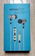 Betron YSM1000 Wired Earbuds, High Definition Earphones, Noise Isolating in Ear
