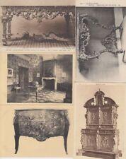FURNITURE ANTIQUES Le Mobilier 72 Vintage Postcards Mostly Pre-1940