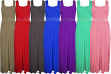 Unbranded Full Length Sleeveless Dresses for Women