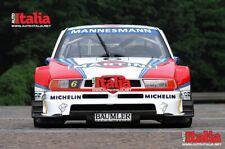 Alfa Romeo 155 ITC Martini high quality A2 photographic print from Auto Italia