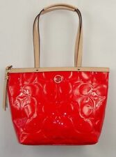 Coach Patent Leather Shoulder Bags