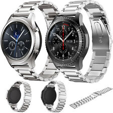 Replacement Strap Stainless Steel Watch Band f/ Samsung Gear S3 Classic/Frontier