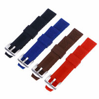 Silicone Watch Strap Dustproof Durable Oilproof Breathable Wristband Replacement
