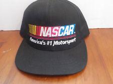 NWOT NASCAR America's #1 Motorsport  Adjustable Hat Racing Black, USA