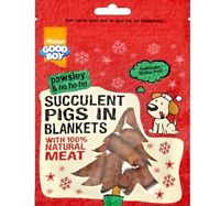 PIGS IN BLANKETS - (80g pack) - Pawsley Christmas Dog Treats bp Pet Food PawMits