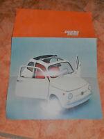 FIAT 500 F catalogue publicitaire