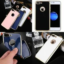 Silicone/Gel/Rubber Mobile Phone Bumpers for iPhone 8 Plus