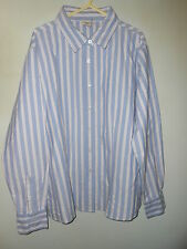 """Cotton traders ladies long sleeve striped shirt size 20 50"""""""