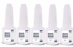 The Edge Nail Acrylic Brush on Nail Resin QUICK Dip Acrylic System PURPLE 8g
