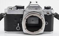 Nikon FM SLR Kamera analoge Spiegelreflexkamera Camera Gehäuse
