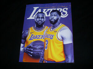 2020-21 Los Angeles Lakers Yearbook 164 pages LeBron James Anthony Davis