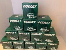 13 vintage Dudley Official Softballs Sb12Lnd, 12 inch, Haiti, New In Box