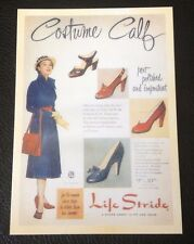 POSTCARD: COSTUME CALF: PERT, POLISHED AND IMPORTANT: LIFE STRIDE: UN POSTED