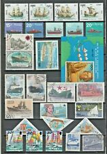Boats SHIPS Thematic STAMP Collection MINT USED Our Ref:TT135