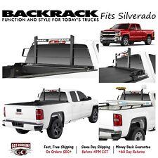 15004 BackRack Black Original Headache Rack fits Silverado / Sierra 2007-2018