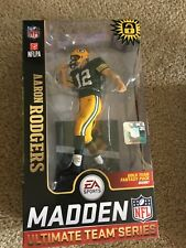 Aaron Rodgers Packers Special Green Jersey McFarlane Madden 19 Team Series 1