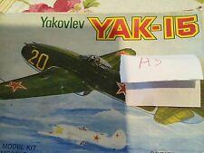 RUSSIAN YAK 15 1/72nd Pioneer 2 Models