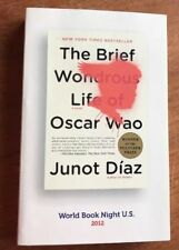 The Brief Wondrous Life of Óscar Wao by Junot Díaz 2008 PB Book Xlnt Condition