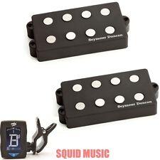 Seymour Duncan SMB-4A 4 String Music Man Alnico Pickup Set (FREE GUITAR TUNER)