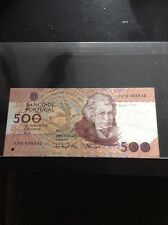 1993 Portugal 500 Escudos Bill