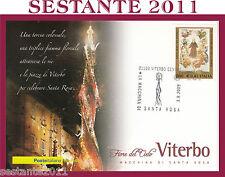 ITALIA MAXIMUM MAXI CARD 2009 VITERBO LA MACCHINA DI SANTA ROSA A189