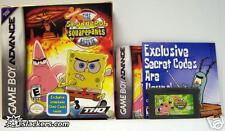 The SpongeBob SquarePants Movie (GBA) COMPLETE IN BOX!!
