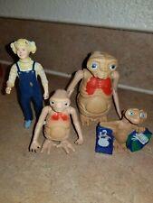Lot of 4 Vintage 1982 E.T. Gerdie Extra-Terrestrial Figures Wind up