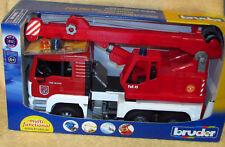 Merchandising Bruder 02770 - Man TGA Autogru Pompieri con Luci e Suono