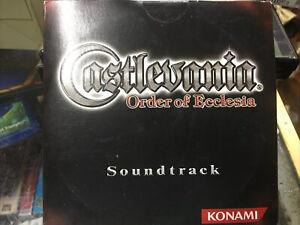 Castlevania: Order of Ecclesia soundtrack