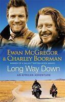"""AS NEW"" Long Way Down, Boorman, Charley, McGregor, Ewan, Book"