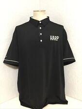 ⛳️Men's G•MAC APPAREL POLO GOLF Short Sleeve SHIRT SZ 2XL BLACK