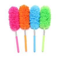 Anti-static Extendable Cleaning Brushes Duster Brush Microfiber Telescopic