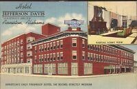 Anniston, ALABAMA - Hotel Jefferson Davis - ARCHITECTURE - 1942