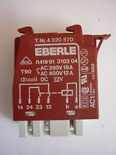 Genuine Miele Heater Relay 0419.01.3103 12V 2S- Oven H300/H4000 series- 4320570
