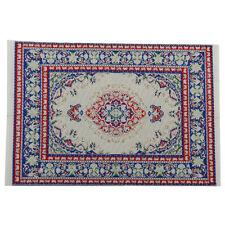 1:12 Dollhouse Miniature Decor Floor Rug Carpet Multicolored Floor Carpet Pro US