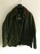 Mens Barbour Bedale wax jacket Green coat 46 in size Large / Extra Large #2 L/XL
