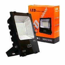 100W Led Flood Light Outdoor Work Light 6000K White Light Security Spotlight
