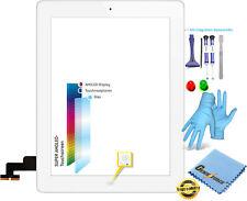 Touchscreen Glas Digitizer für Apple iPad 2 mit Original LVA Flexkabel - WEIß