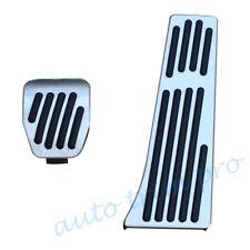 2X Foot Rest Pedal Gas Fuel Brake Cover For BMW M3 M5 M6 E90 E92 F10 F06 F12 F13