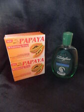 2 x RDL Papaya Whitening Soap & 1 x RDL Babyface Cucumber Facial Cleanser 150ml