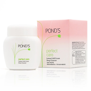 60ml Pond's Perfect Care Lemon Cold Cream Deep Facial Cleanser Makeup Remover